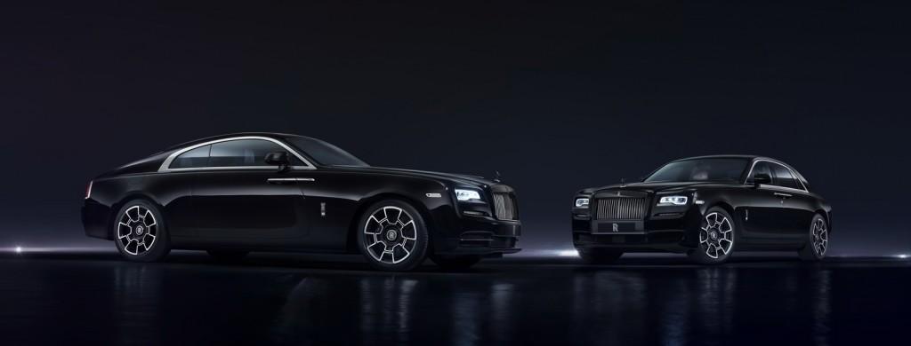 Versiuni Black Badge pentru Rolls Royce