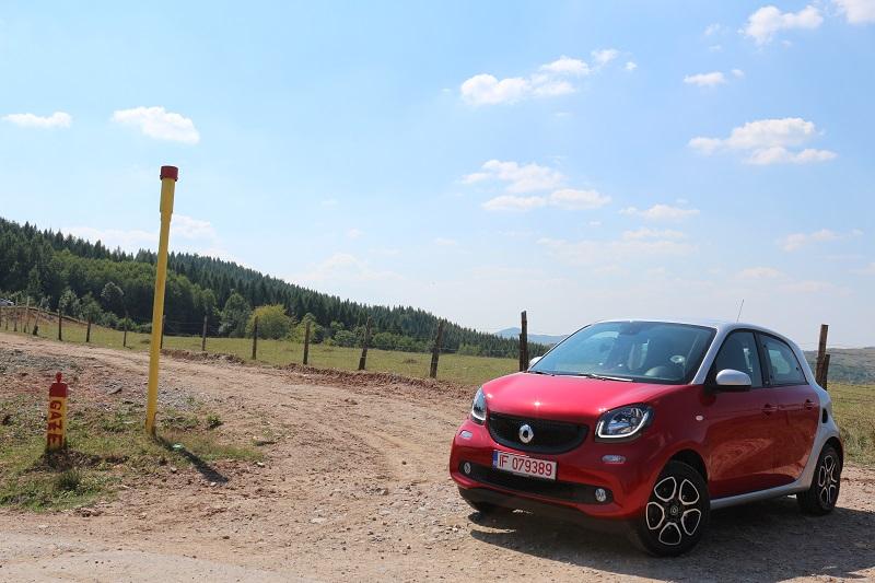 Drive test Smart Forfour (4)