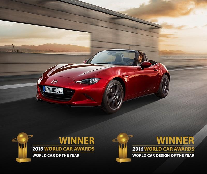 Două premii importante pentru Mazda MX-5