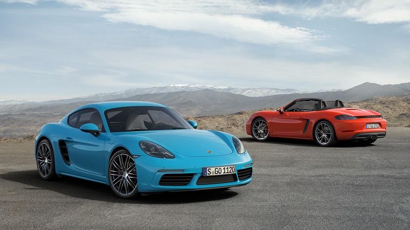 Porsche a lansat noul 718 Cayman