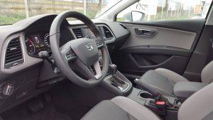 Test Seat leon xperience interioare (2)