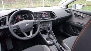 Test Seat leon xperience interioare (3)