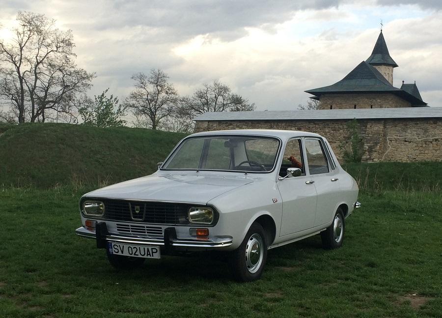Dacia 1300 cu numărul 00002, vedetă la Brașov