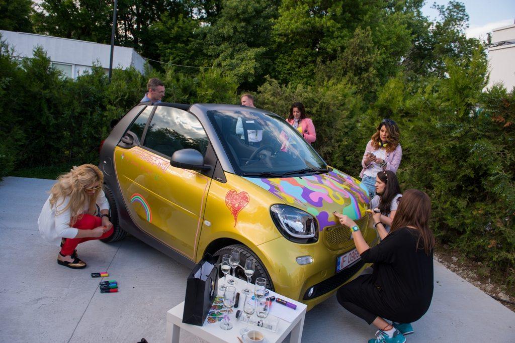 smart fortwo cabrio a fost lansat în România
