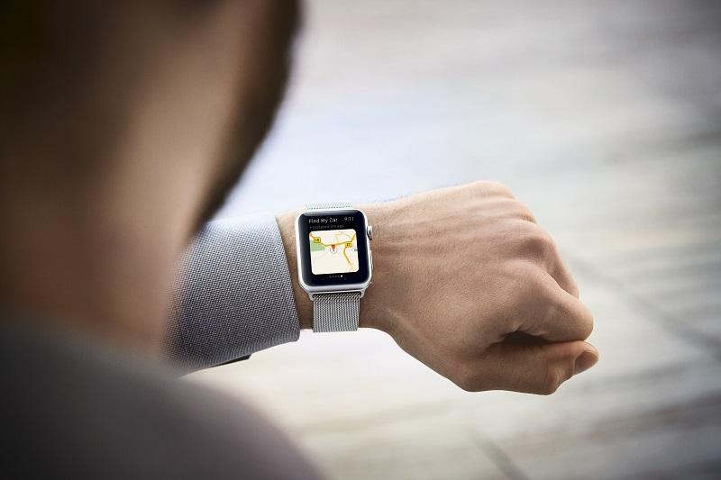 Car finder Apple Watch