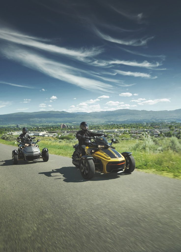 Can-Am Spyder F3-S cu mod drift