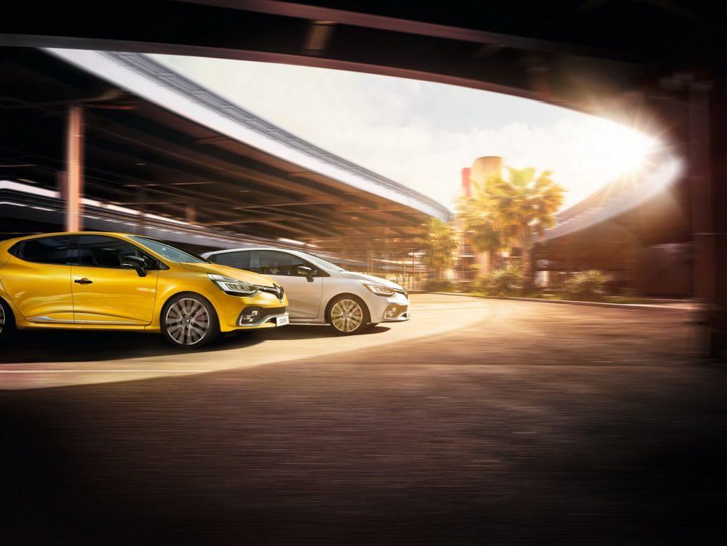 Facelift pentru Renault CLIO RS 200 & RS 220 Trophy