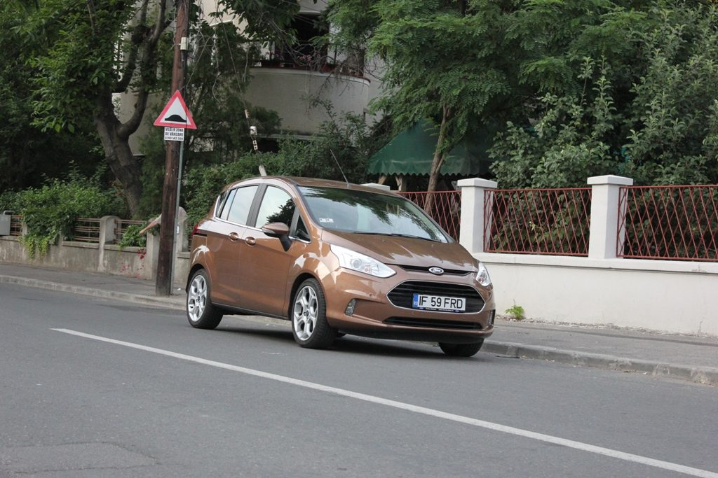 Ford B-Max – made in Craiova