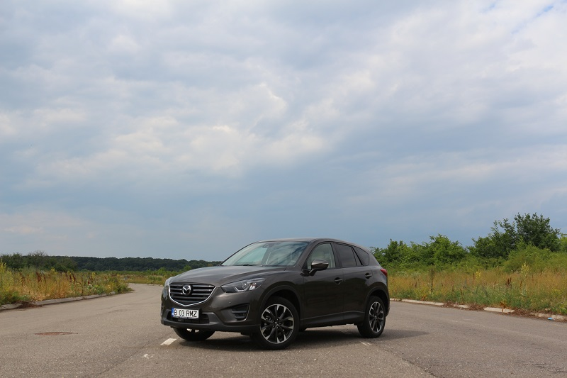 Mazda CX-5 facelift – mai multă tehnologie Skyactiv
