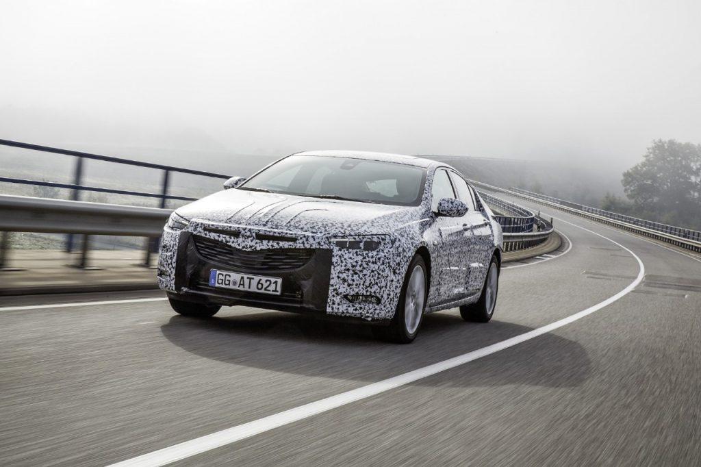 Viitorul Opel Insignia, în teste de stradă