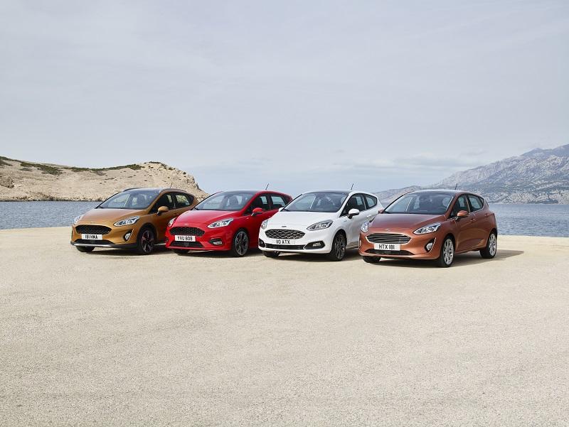 Ford a prezentat noua Fiesta. Va avea variantă Vignale