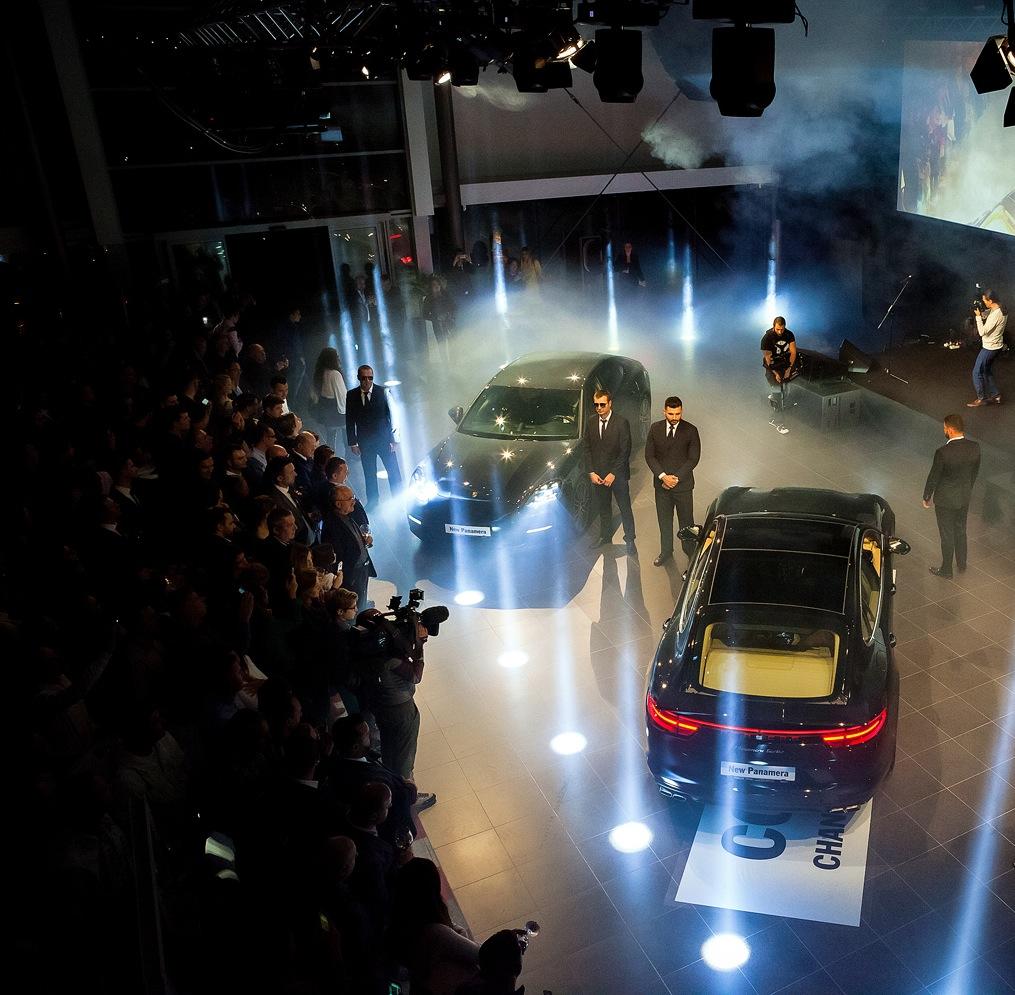 Porsche Panamera a fost lansat în România
