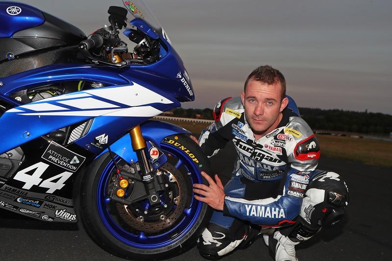 Lucas Mahias și GP Racer