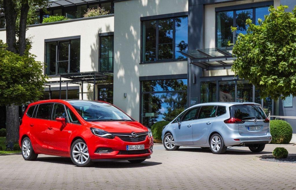 Noul Opel Zafira prezentat în premieră în România