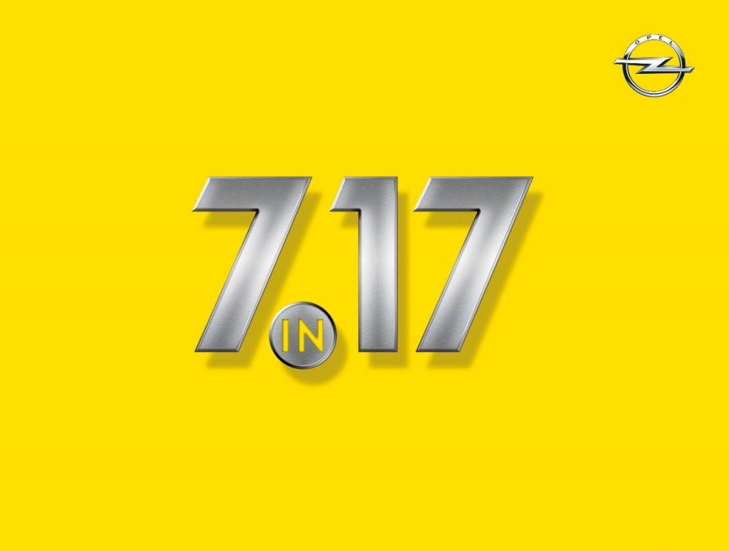 """""""7 în 17"""": șapte modele noi de la Opel în 2017"""