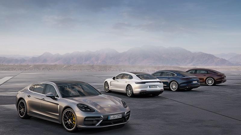 Porsche lansează noile modele Panamera Executive, Panamera și Panamera 4