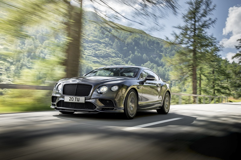 Bentley a prezentat noul Continental Supersports
