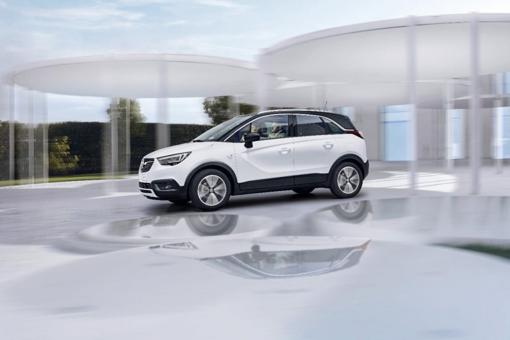 Opel a lansat Crossland X