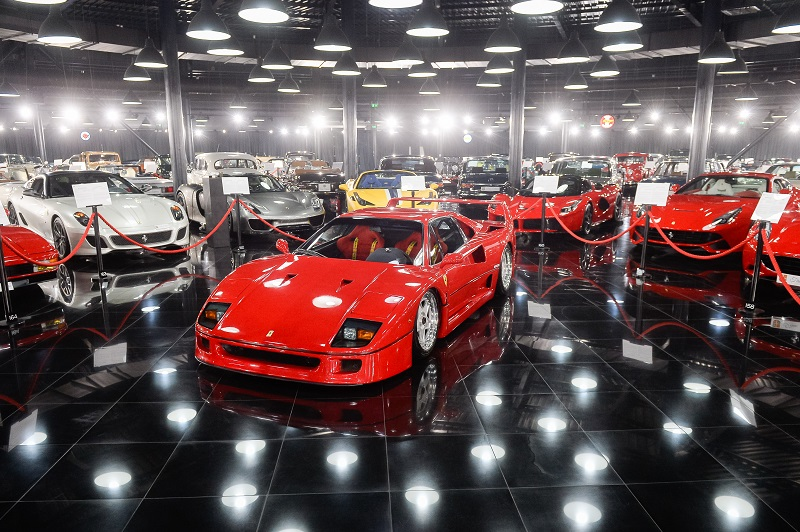 Foto eveniment Ferrari F40_Tiriac Collection_16.02 (1)