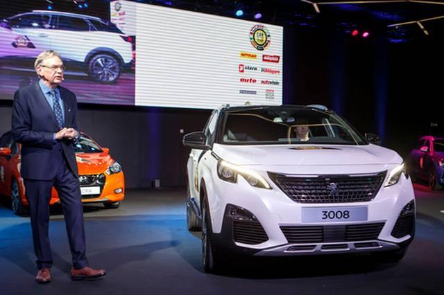 Peugeot 3008 COTY 2017