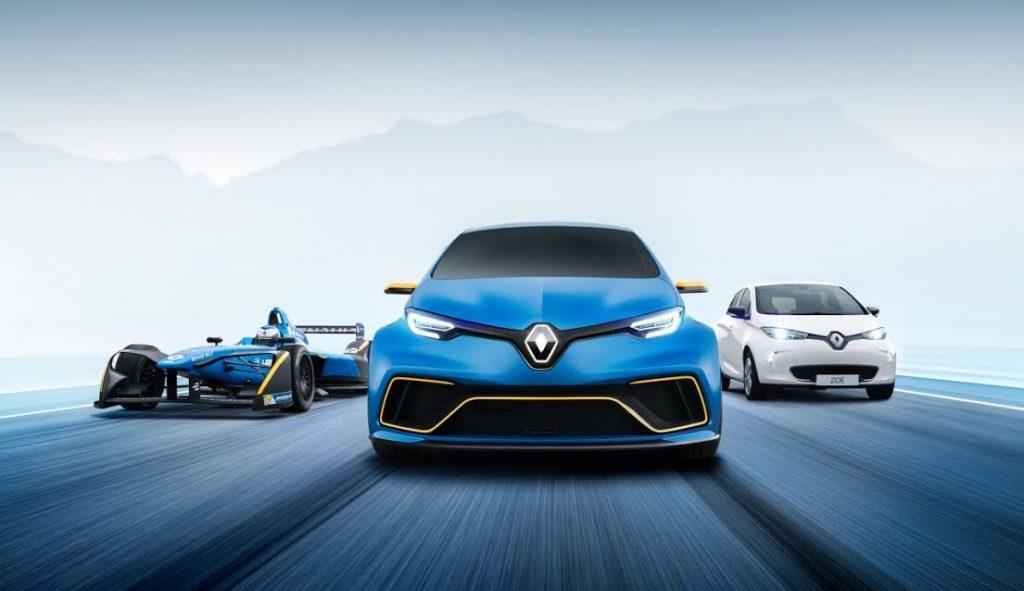 Renault ZOE e-Sport, un concept car 100% electric și 100% sportiv