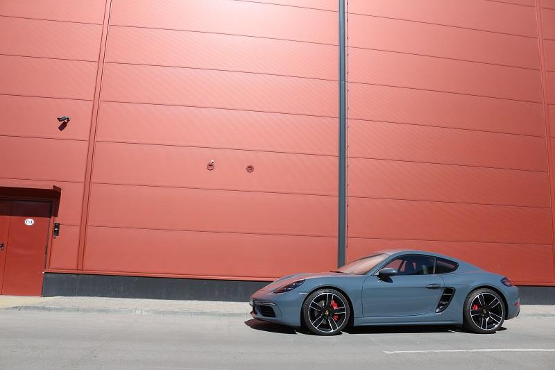 Porsche 718 Cayman S – o formă plăcută de downsizing