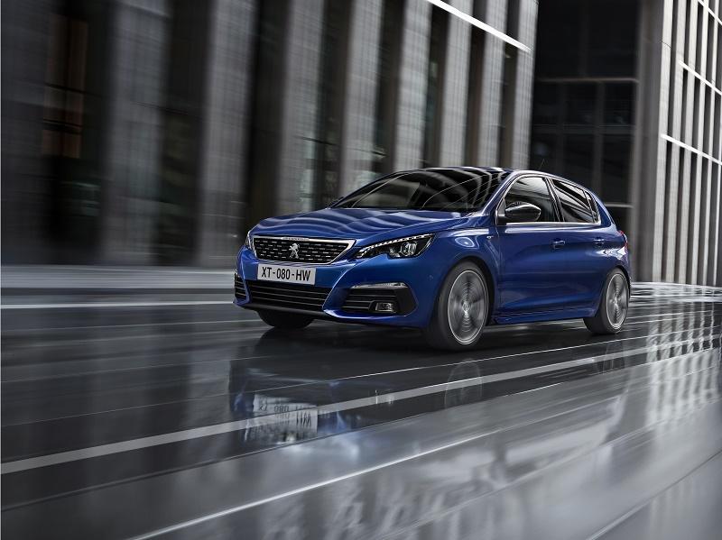 Peugeot operează un facelift asupra compactei 308