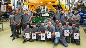 Porsche 1 milion