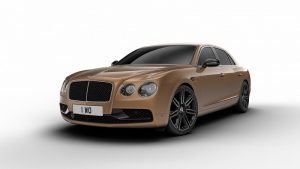 Flying Spur Design Series - Bentayga Bronze and Azure Purple