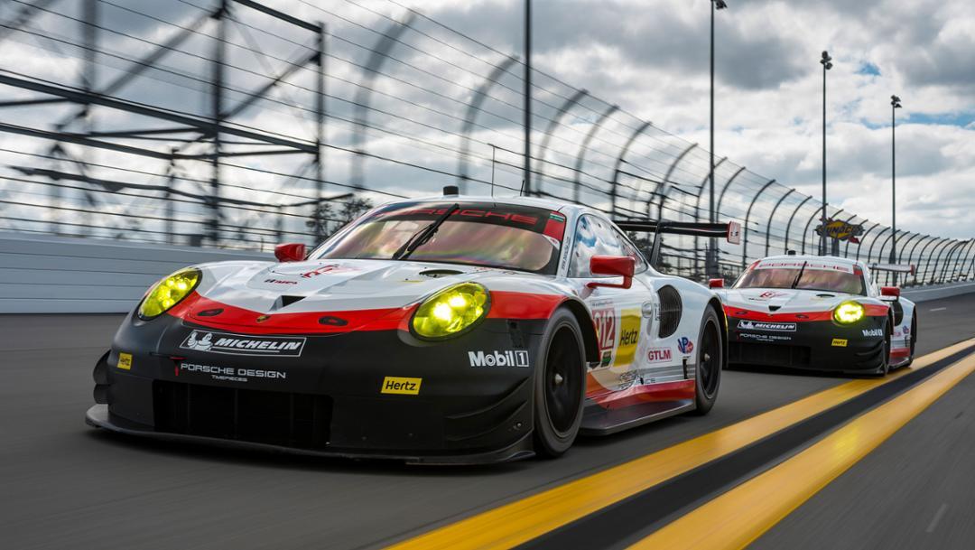 Porsche 911 RSR in Daytona