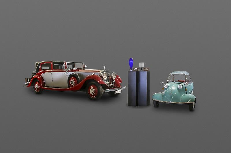 Rolls-Royce Phantom II & Messerschmitt