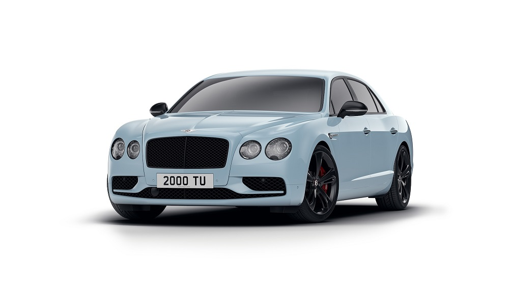 Bentley a prezentat noul Flying Spur V8 S Black Edition