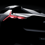 Teaser Mitsubishi e-EVOLUTION CONCEPT