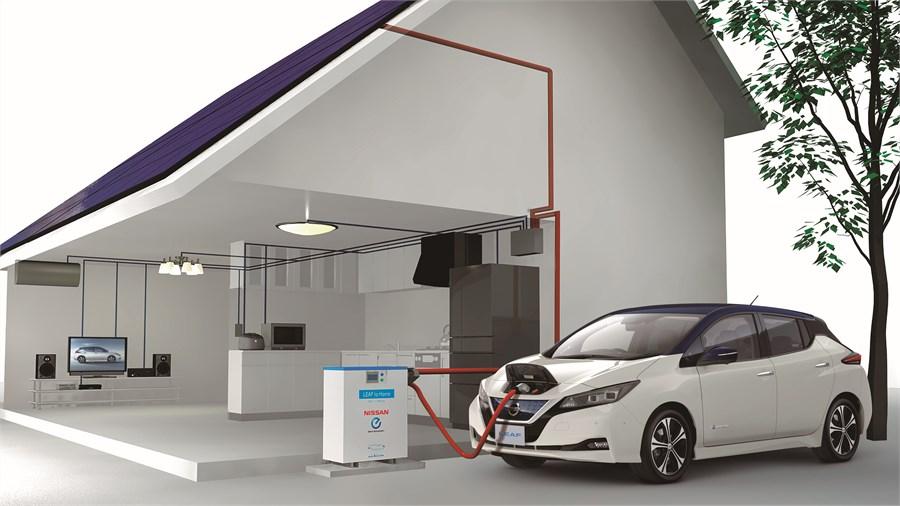Nissan a prezentat noua generație a electricei Leaf