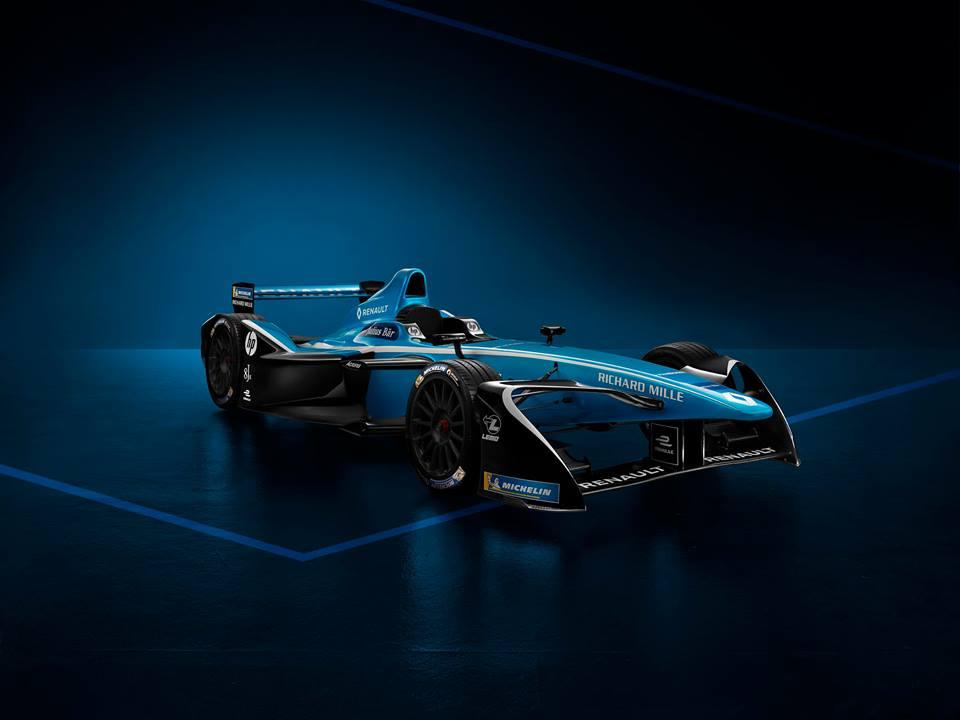 Renault e.dams prezintă noul monopost de Formula E pentru sezonul 4