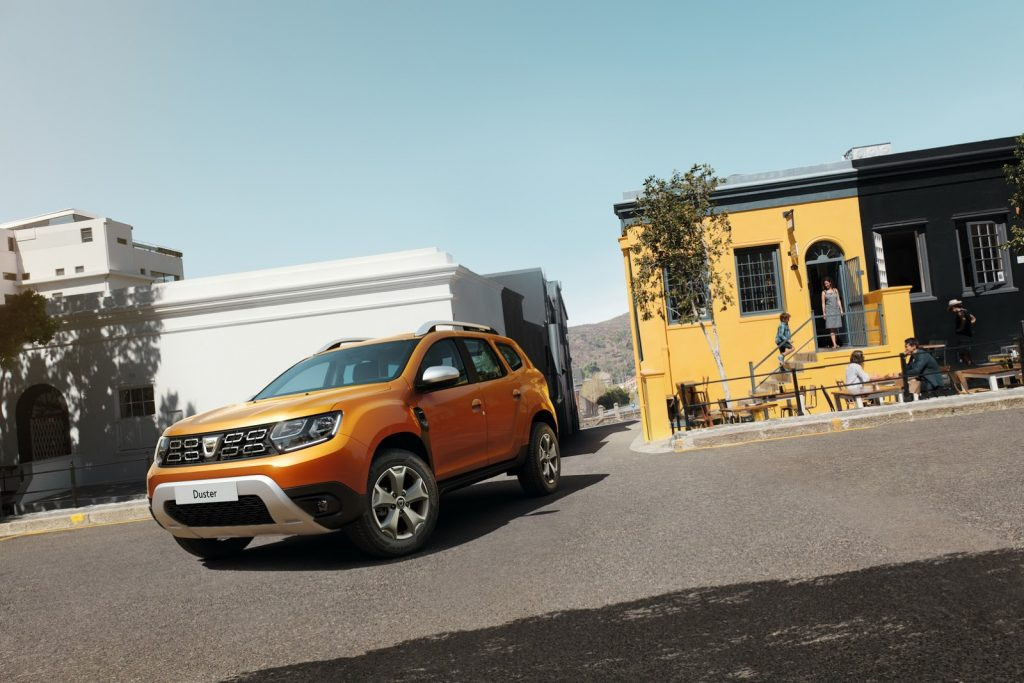 Dacia a prezentat la Frankfurt noul Duster