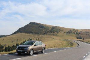Dacia Logan pe TransBucegi (1)