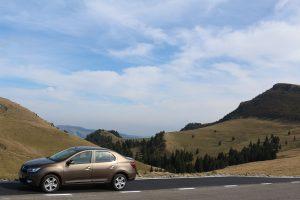 Dacia Logan pe TransBucegi (2)
