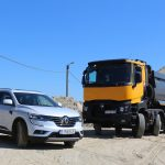 Renault Trucks K460 cu Renault Koleos – test offroad
