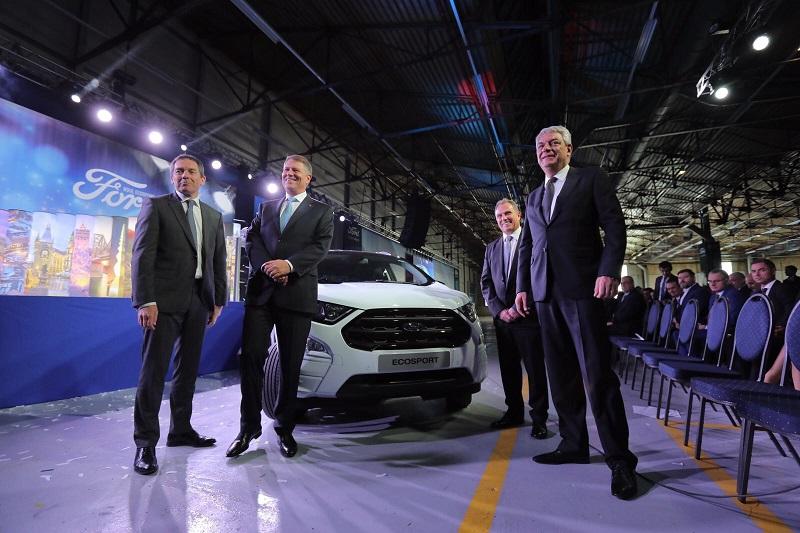 Ford a lansat producția EcoSport la Craiova