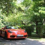 Porsche 718 Boxter – downsizing sport