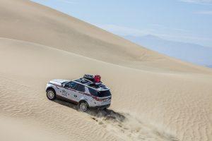 Range Rover competitie goodyear