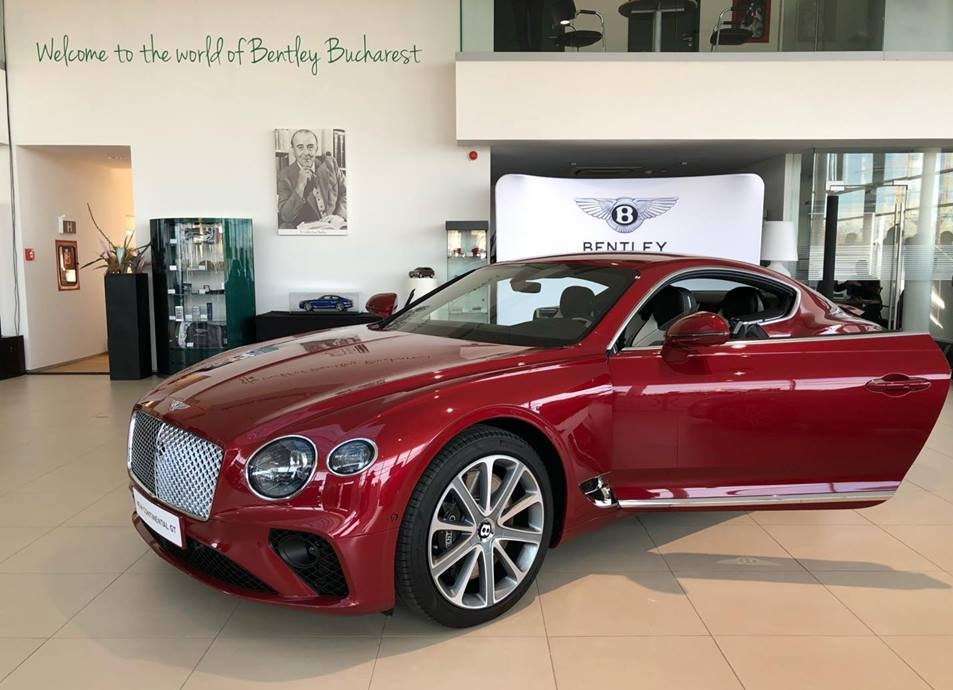 Bentley Continental GT s-a lansat oficial în România