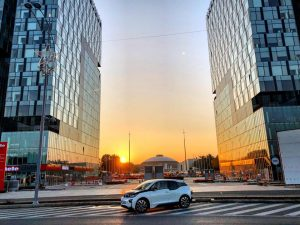 BMW i3 test Bucuresti (1)