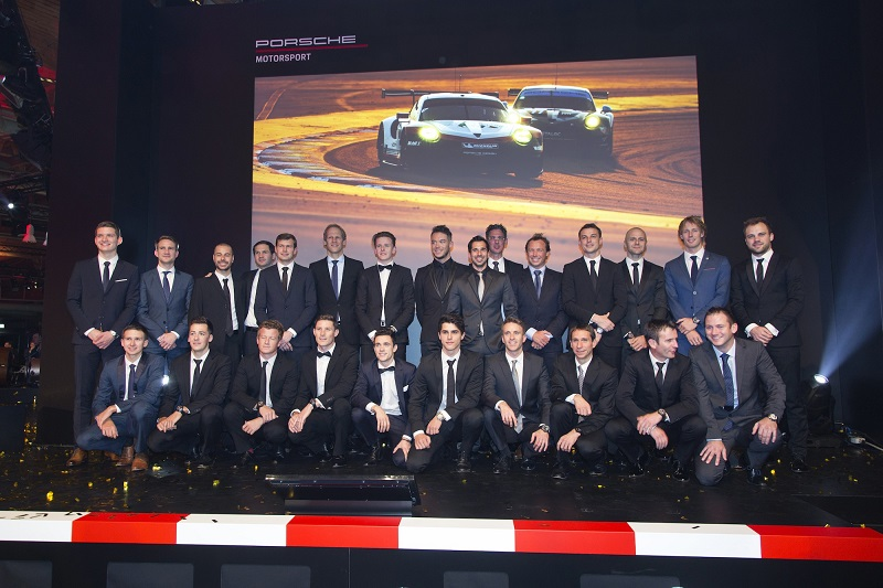 Porsche Night of Champions - pilotii oficiali Porsche in 2018