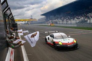 Porsche 911 RSR (92),  Porsche GT Team: Michael Christensen, Kevin Estre