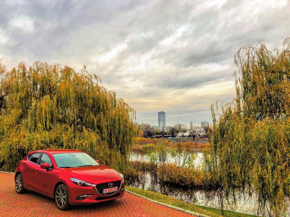Mazda3 facelift – hatchback în varianta Takumi
