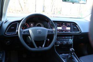 Test Seat Leon FR argintiu (12)
