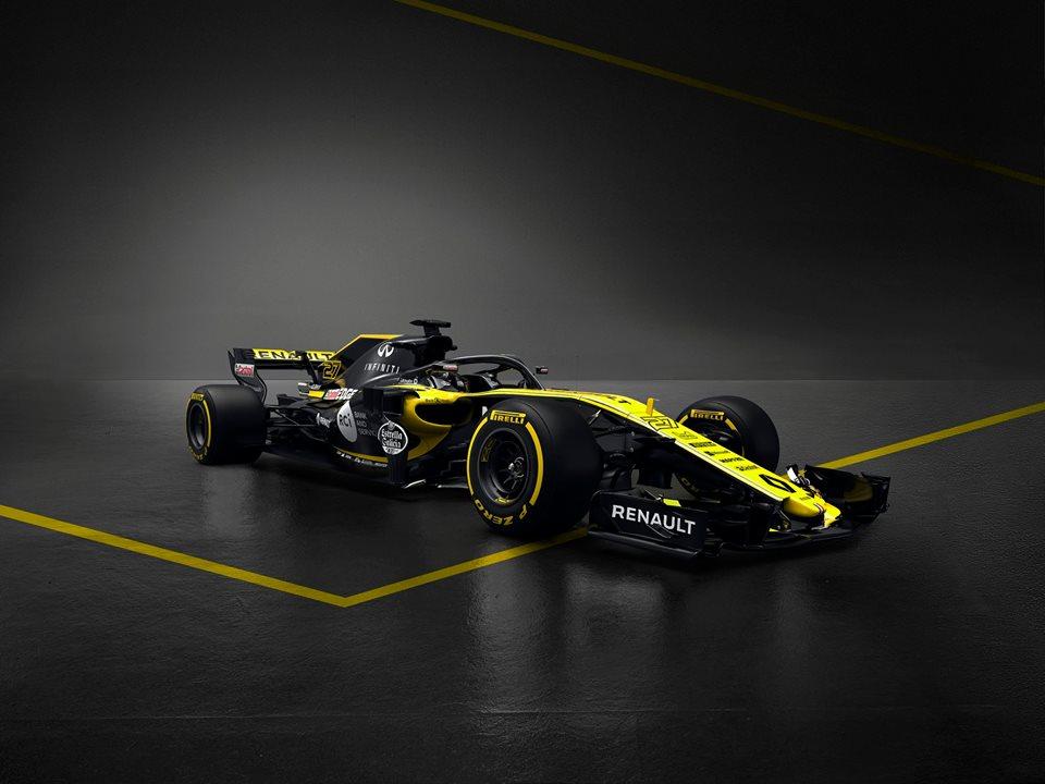 Renault Sport Formula One Team prezintă monopostul pentru sezonul 2018