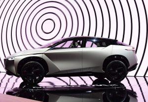 Nissan IMx KURO concept unveil at Geneva Motor Show 2018